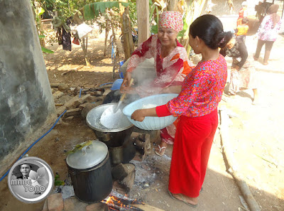 Tahang yaitu alat untuk memasak nasi jumlah banyak