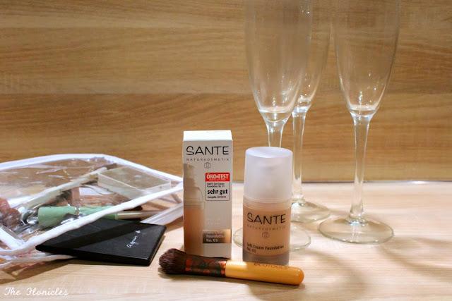Sante Soft Cream :  le fond de teint qui a trop bu (hiiiips! Santé!)