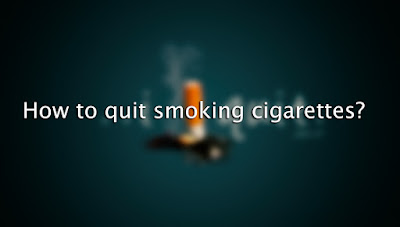 How to quit smoking cigarettes?