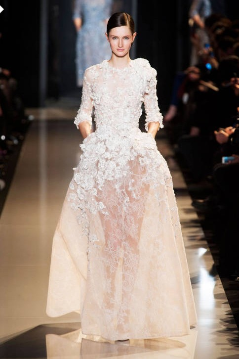 And the two spring summer 2013 haute couture best runaway for Haute couture members