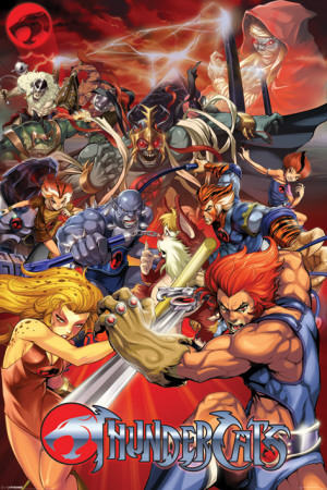 Original Thundercats Characters on Superheroes Revelados  Thundercats