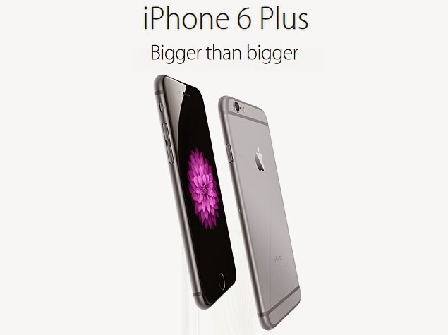 Sales of the iPhone 6 Plus