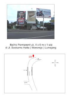 Kami Menyediakan titik Billboard/ Reklame yang terletak di LUMAJANG ...