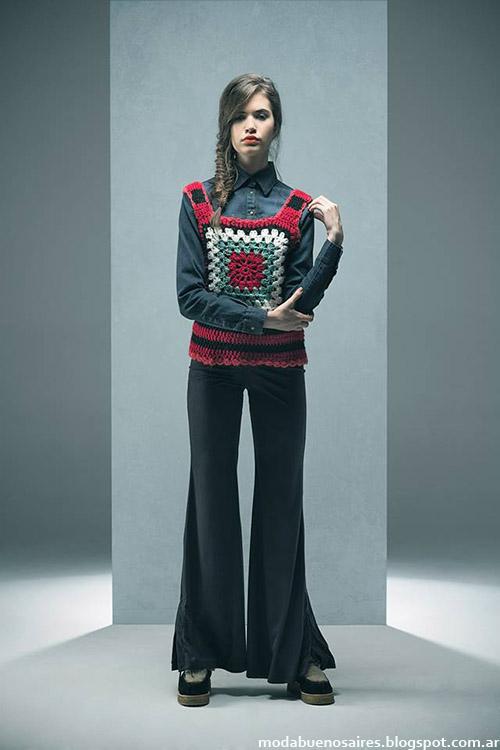 Moda ropa de mujer Doll Store invierno 2015.