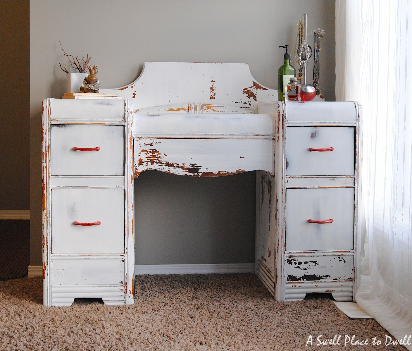 Milk Paint Dressing Table