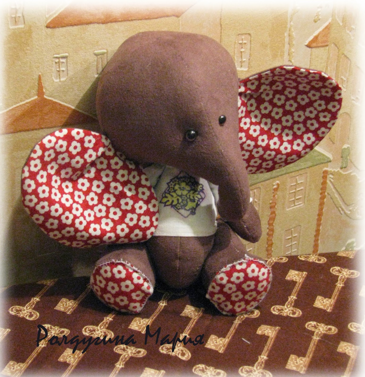 слоненок - тедди