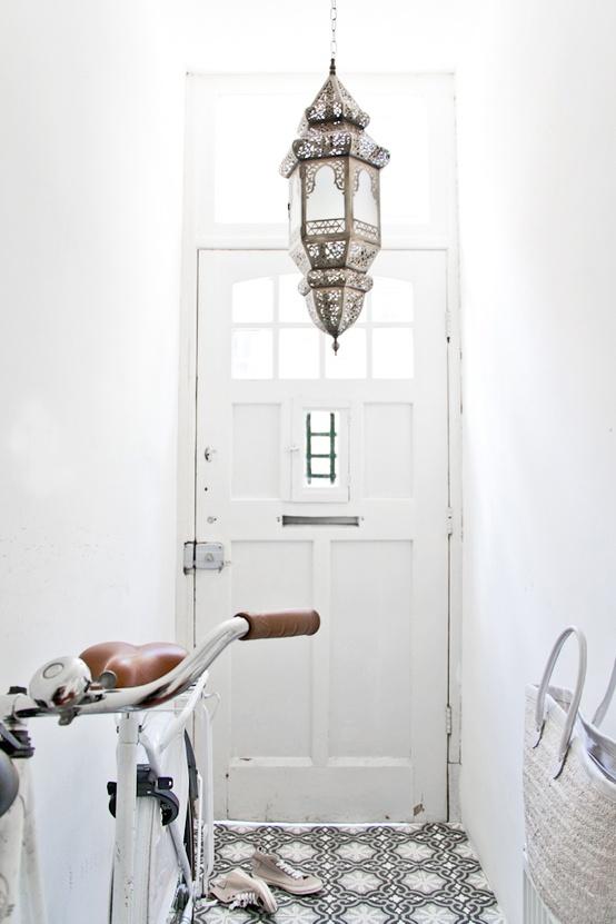 En mi espacio vital muebles recuperados y decoraci n - Lamparas de entrada ...