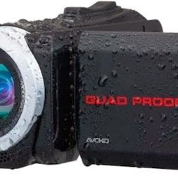 Nova filmadora jvc Everio à prova d'água