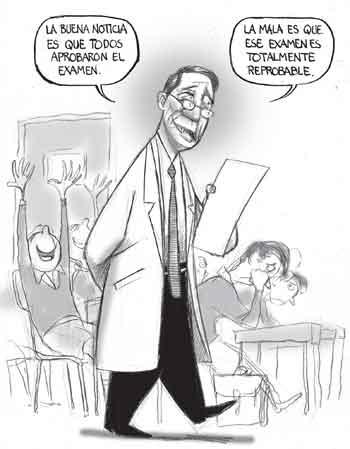 Caricatura Ganadora en Congreso de Educación