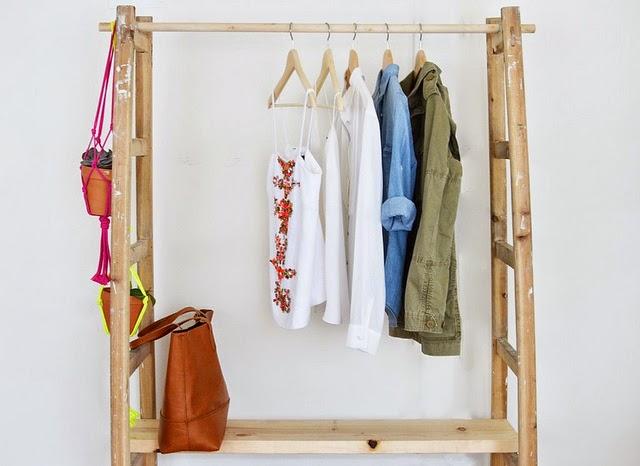 Un armario a partir de una escalera? Es posible con este DIY