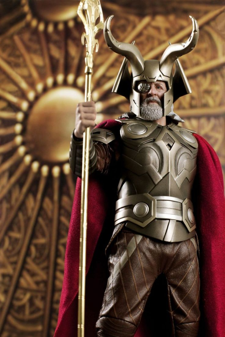onesixthscalepictures: Hot Toys Thor Movie Odin : Latest ...