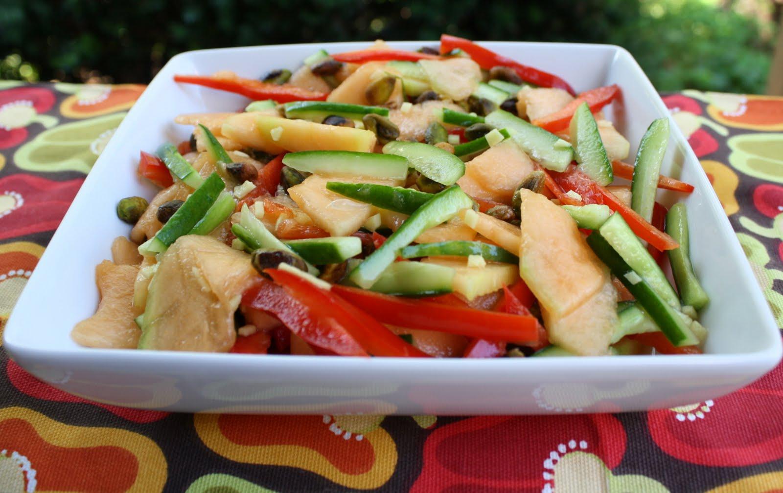 Keeley's Maine Kitchen: Spicy Cantaloupe Salad