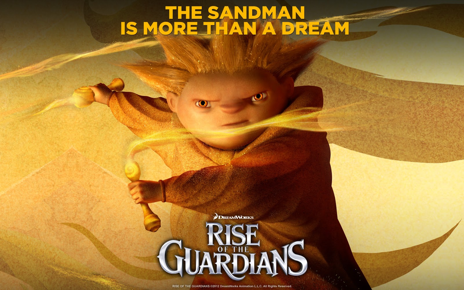 The Sandman : Rise of the Guardians Movie Wallpaper