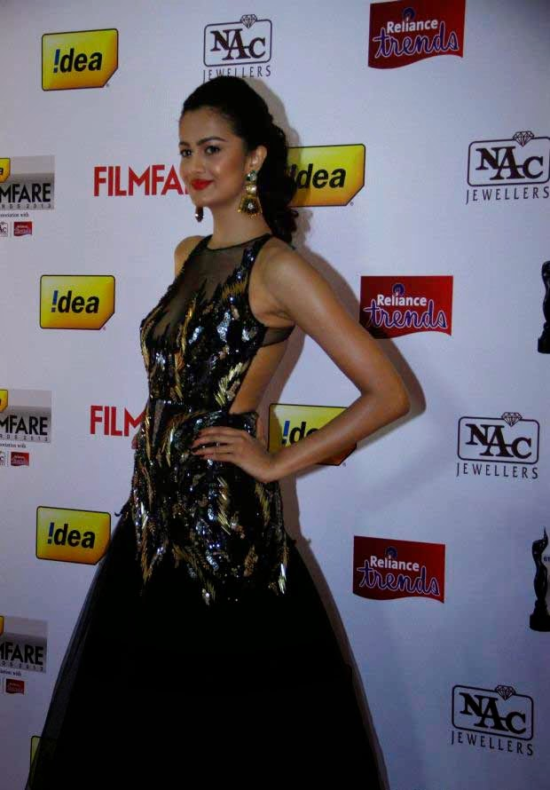 Shubra Aiyappa at 61st Idea Filmfare Awards 2013 (South)