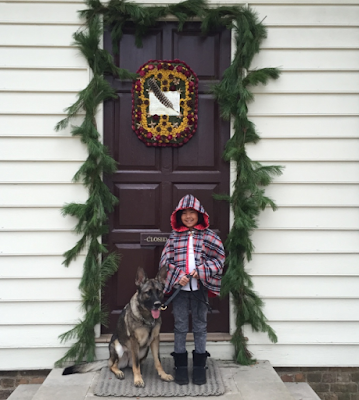 christmas in williamsburg, whigs & tories, virginia, colonial christmas, cape, capelet