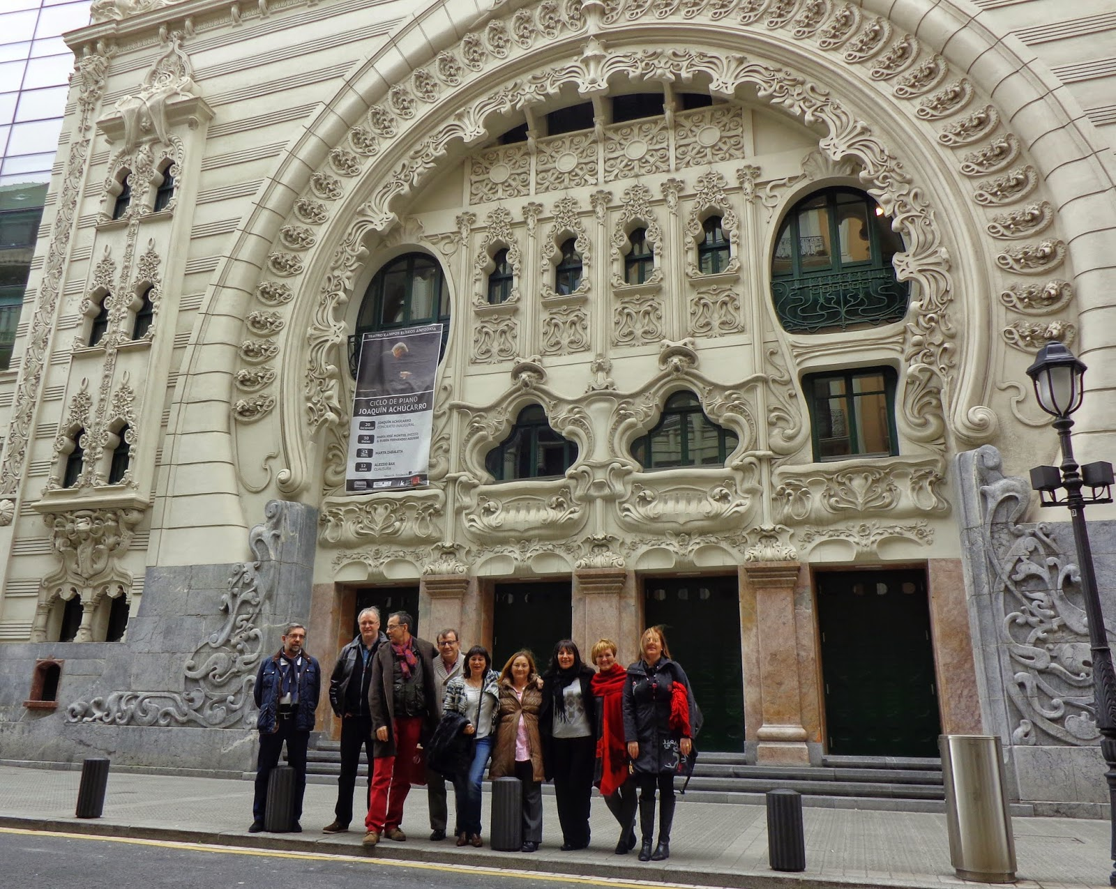 Garagardoa palacio chavarri en bilbao - Restaurante teatro campos ...