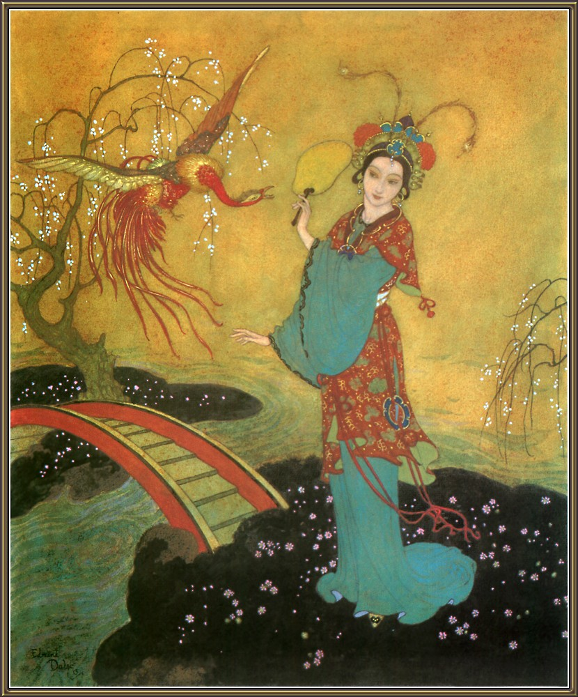 edmond dulac princess badoura