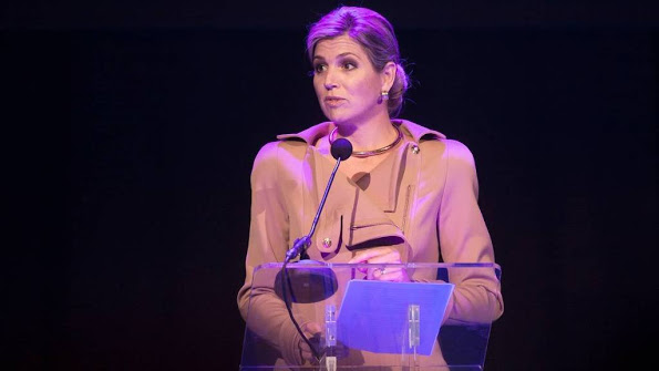 Queen Maxima At The Launch Of The NLGroeit In Rotterdam
