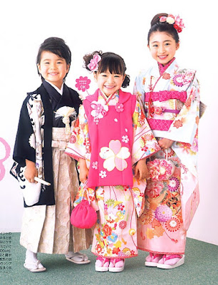 Model Kimono Jepang Anak Cantik Lucu