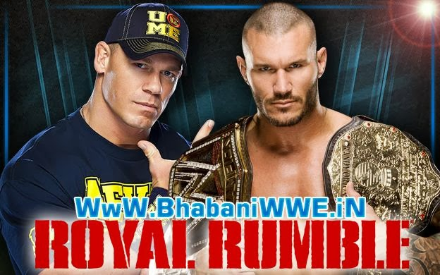 Royal Rumble 2014 » Randy Orton vs John Cena (WWE World Heavyweight Championship Match)