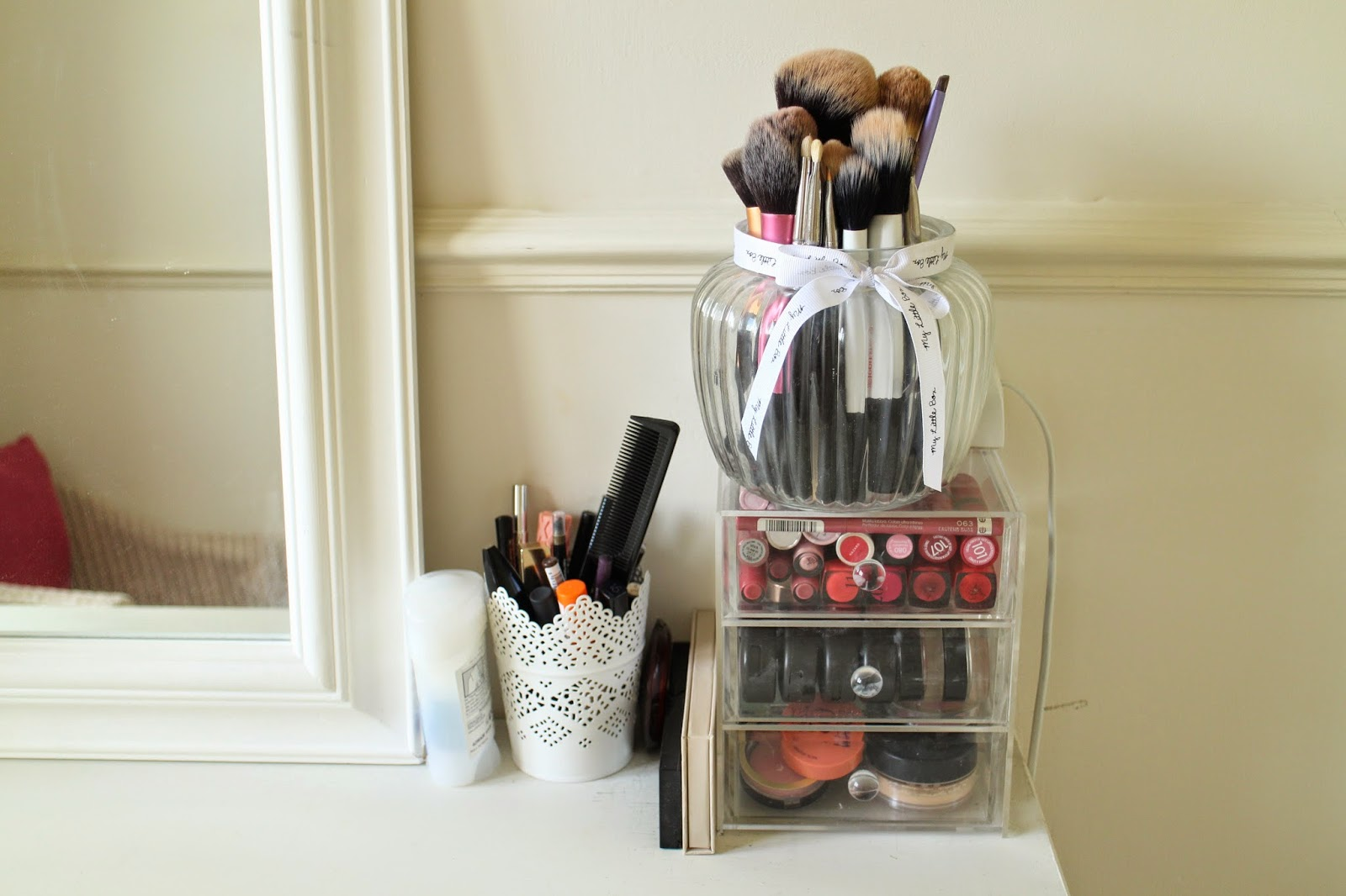 L.E.M Beauty Blog | dressing room tour