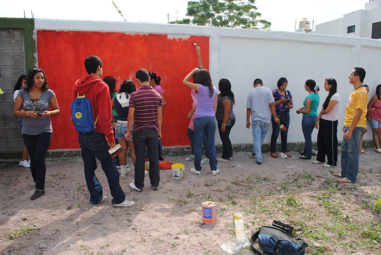 Anime rul es arte tercermundista mural preparatoria for Mural prepa 1 uaemex
