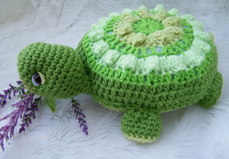 Crochet Patterns Turtle : Teris Blog: New Turtle Crochet Pattern