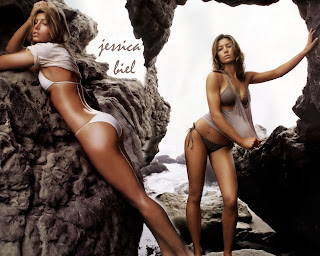 Jessica Biel HD Wallpaper