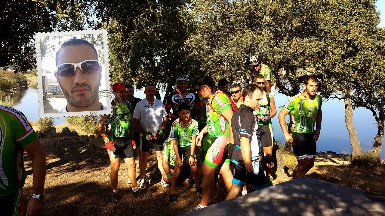Santa amalia pe a cicloturista amaliense para el - Chino arroyomolinos ...