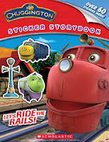 Chugginton Sticker Storybook