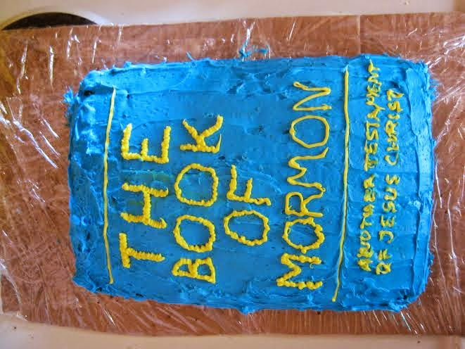 Book of Mormon cake