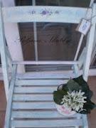 Oslikana stolica