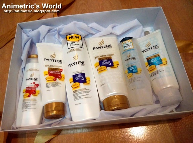 Pantene Aqua Pure Shampoo and Conditioner Review