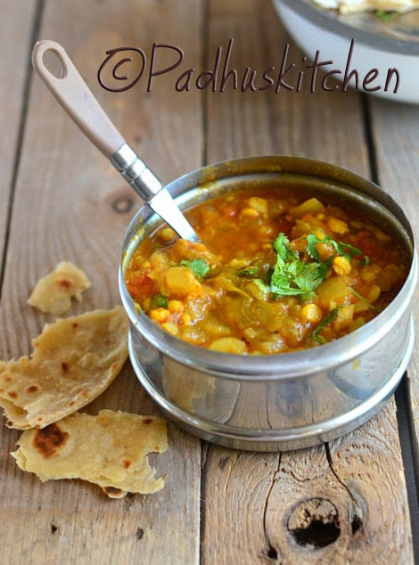 Lauki Chana Dal ki Sabji-Bottle Gourd Chana Dal Curry