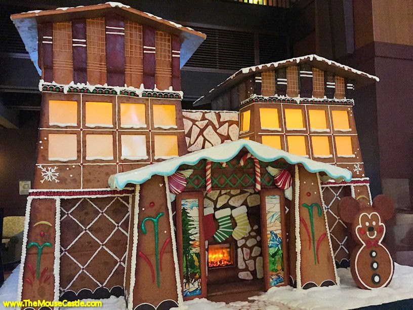 Grand Californian Hotel gingerbread house