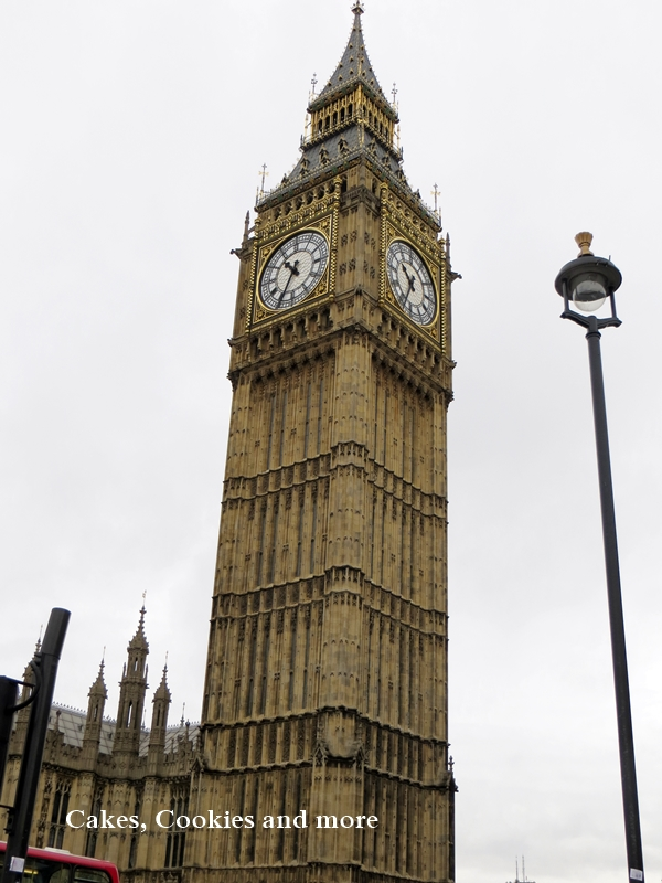 Big Ben beim Palace of Westminster