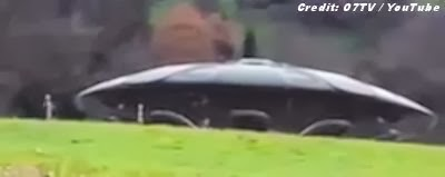 Real UFO With Aliens Caught On Camera in Germany? | VIDEO