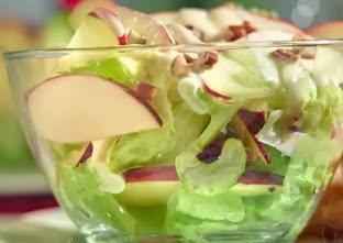 Como hacer una ensalada de manzanas