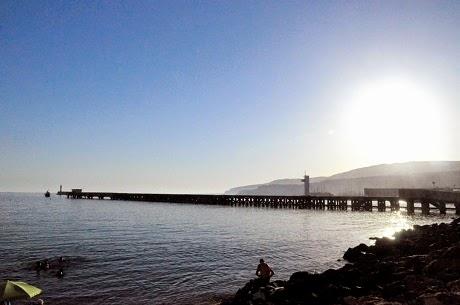 Atardece en Almeria