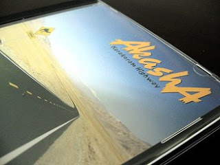 Cover of AkashA's 'Karakoram Highway' album