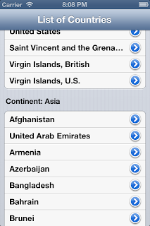 iOS display XML data in Table view after parsing