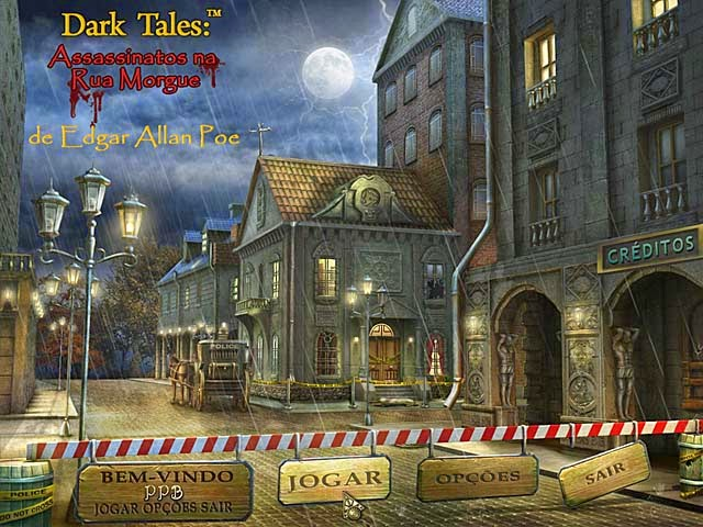 Dark Tales - Edgar Allan Poe's - Assassinatos na Rua Morgue PT-BR Portable