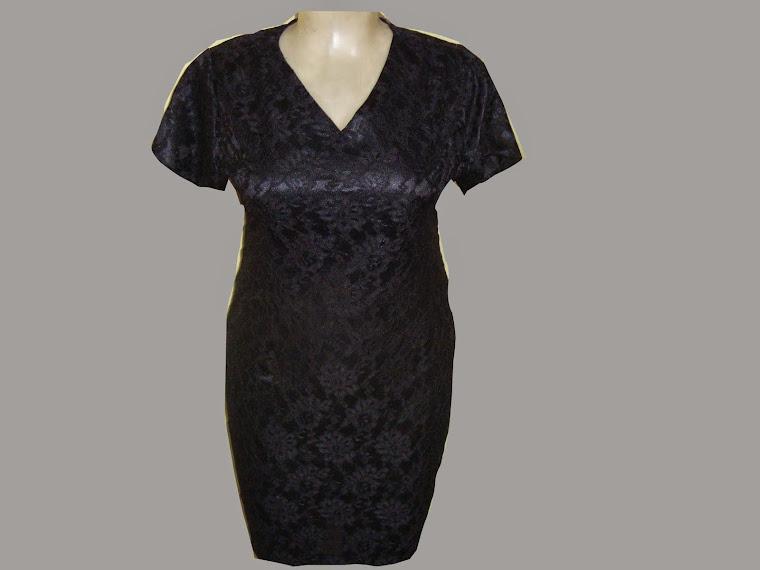vestido de renda g