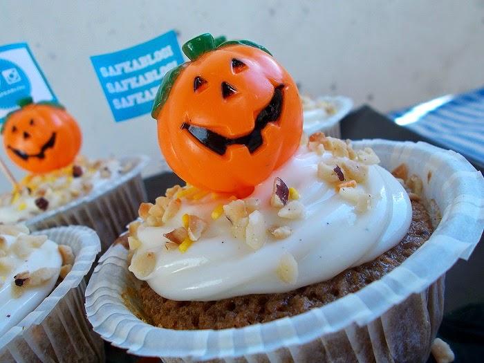 Porkkanakakku-Cupcakes