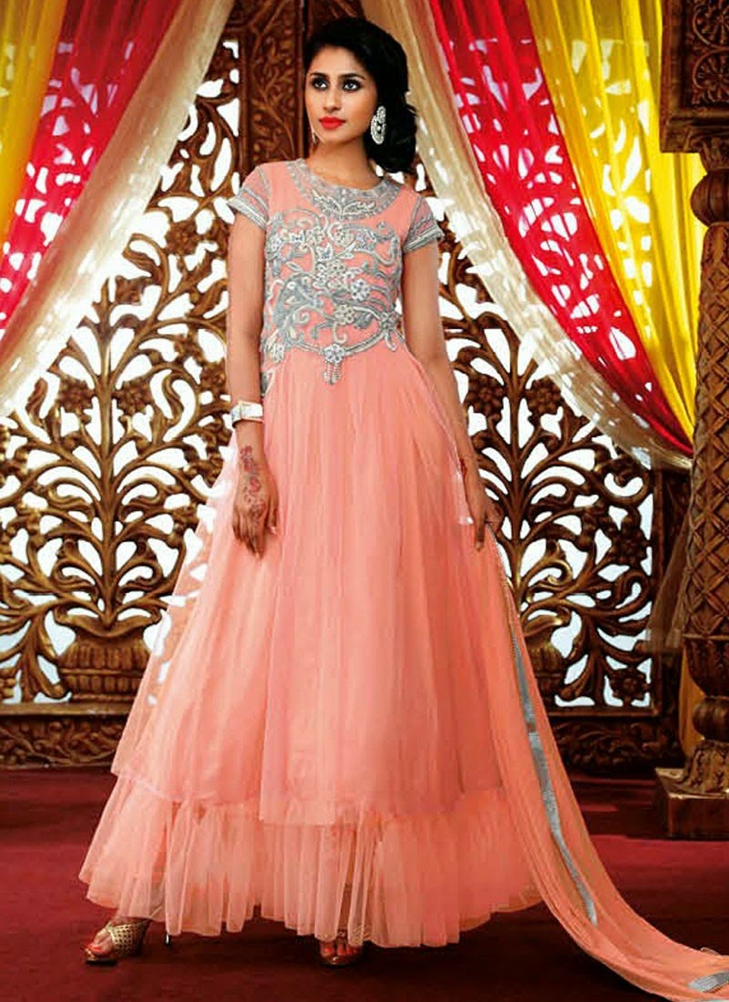 24ladiesshopping floor length anarkali suits for Floor length suits