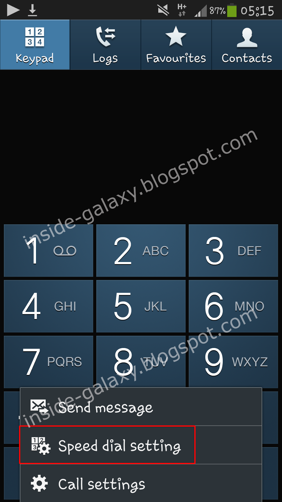 Setting up to dial voicemail on samsung galaxy s4 youtube my blog