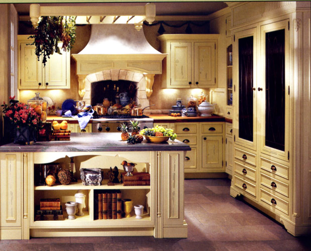 Country Kitchen Decorating Ideas | Kitchen Layout & Decor Ideas