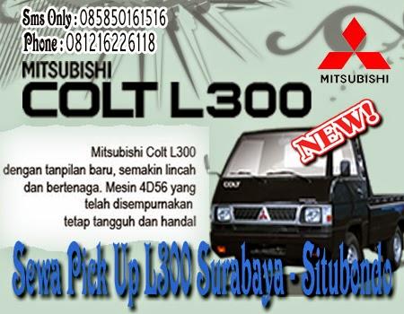 Sewa Pick Up L300 Surabaya - Situbondo