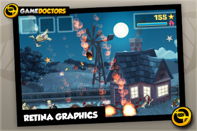 Game zombie smash cho Iphone