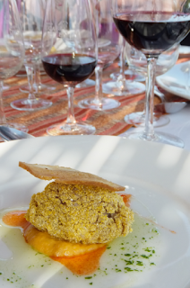 Mendoza fine dining - food and wine malbec, wine tasting